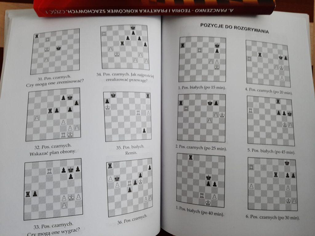 Końcówki szachowe - książka Panczenki