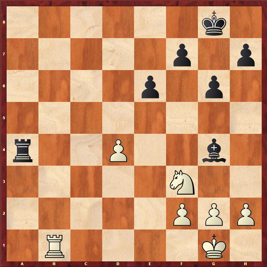 Końcówki szachowe - wieżówka 4 na 3
