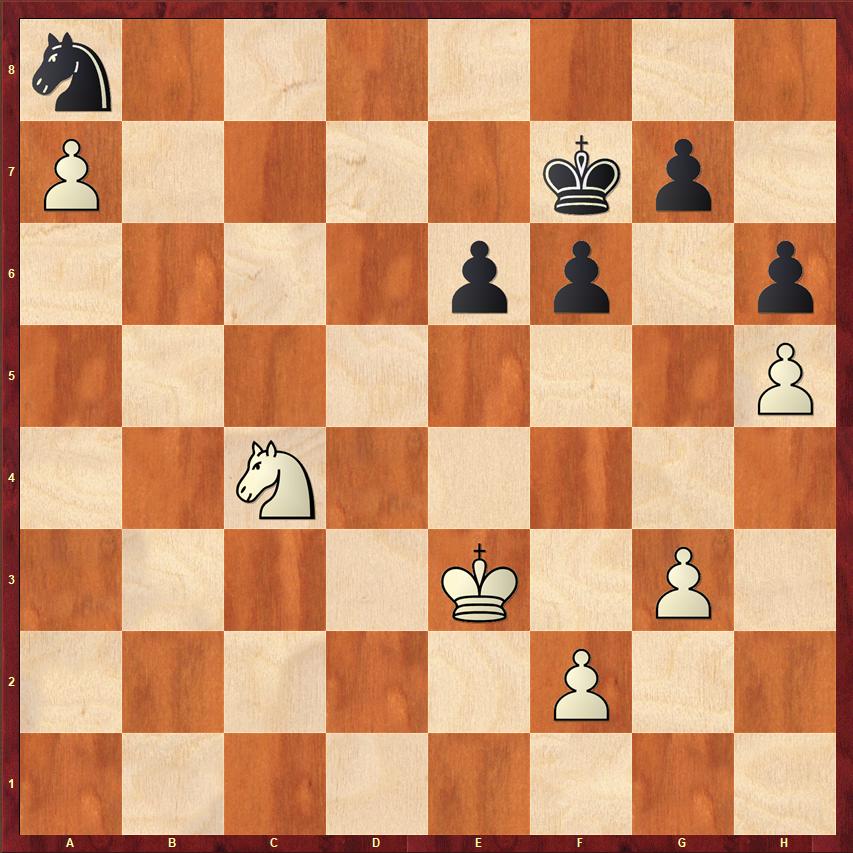 Końcówki szachowe - wolny pion