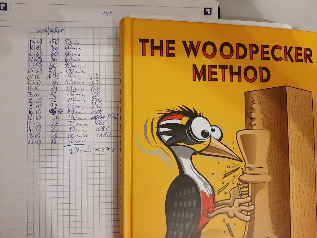 Statystyki rozwiązywania woodpecker method