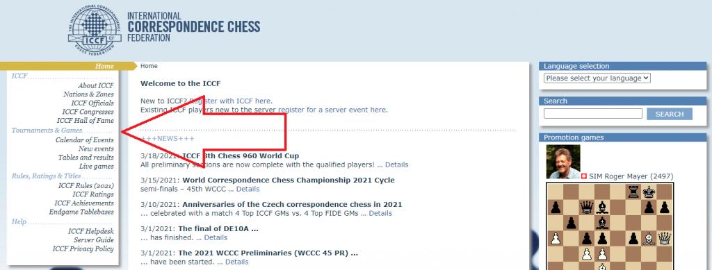 Bazy partii korespondencyjnych - ważne źródło debiutów szachowych.